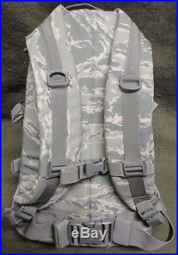 Genuine Us Air Force Afsoc Abu/tiger Stripe Gcs 3 Day Assault Pack. Eagle/lbt