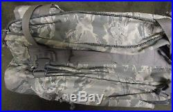 Genuine Us Air Force/usaf Abu/tiger Stripe Soc/sandpiper 5016 Bug Out Bag/pack