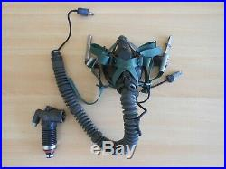 German Air Force Mbu-5/p Oxygen Mask With Wea