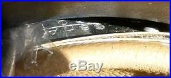 German Helmet WW2 M35 Air Force Nice Condition Size 68 Original Metal Shell