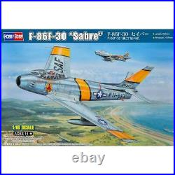 Hobby Boss 81808 USAF F-86F-30 Sabre Fighter Aircraft plastic model kit 1/18