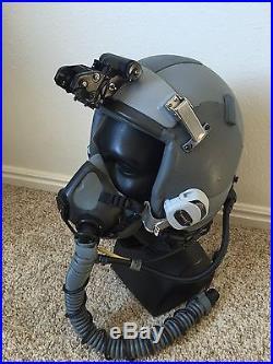 ITT ANVIS Banana Bar Mount for USAF / USN / USMC HGU Pilot Flight Helmet