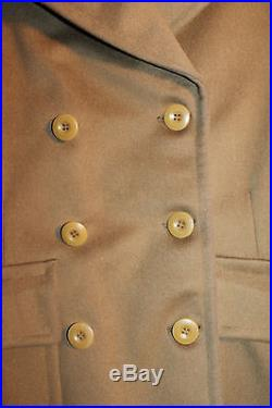 Identified WW2 U. S. Army Air Forces Weather Man's (Lt) Short Officers Wool Coat