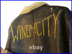 Incredible WW2 Air Force USAAF Uniform Group With B6 Fur Jacket, Windy City