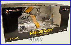 JS International 1/18 USAF F-86F Sabre Jet, MAJ J. Jabara 1953 JSI-60022