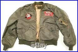 L-2B Bomber Flying Aviator Jacket Korean War Air Force USAF Rolen Sportswear L2B