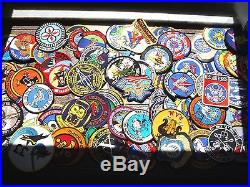 Large Lot Of 100 Usaf Patches Check Out Pictures Usaf Patch Must See