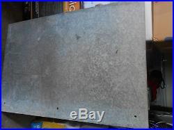 Large Vintage USAF Firing Range Bullet Sign Air Force HEAVY METAL OFF LIMITS