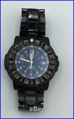 Luminox F-117 Nighthawk 3400 Navy Seals USAF Stealth Swiss Black Watch