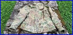MASSIF ELEMENTS USAF MULTICAM Soft Shell JACKET LARGE Crye SOCOM TAD PCU ECWCS