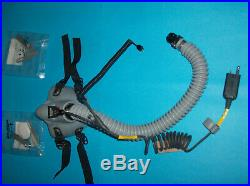 Mask Oxygen Flight Helmet Pilot Mbu-14, Mask Oxygen Helmet Pilot