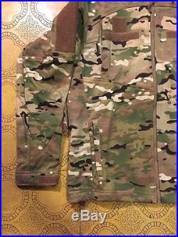 Massif Elements Multicam USAF Jacket with Battleshield X Fabric (FR) X-Large/Reg