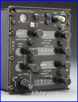 McDonnell Douglas USAF F-4 Phantom II AN/ASN-46 Inertial Nav (INS) Control Box
