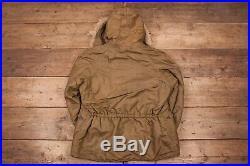 Mens Vintage Rare 1947 USAF N-3 Extreme Weather Parka Jacket Large 44 XR 11615