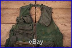 Mens Vintage USAF Vietnam Era SRU-21/P Survival Vest Holster Large 44 R16860