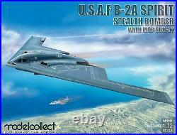 ModelCollect 1/72 Scale USAF B-2A Spirit Stealth Bomber WithMop GBU-57 Damaged Box