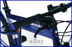 Montague Paratrooper Express 20 Mountain Folding Bike, Air Force Blue, OPEN BOX