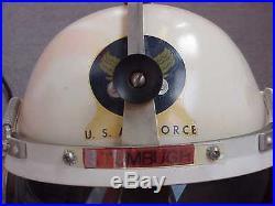 NAMED USAF EC-47 Pilot Lt. Col Vietnam War P-4a Flight Helmet OUTSTANDING Shape