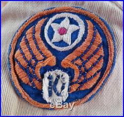 NAMED WWII 311th FIGHTER GROUP 10th AIR FORCE CBI PILOT BUSH FLIGHT JACKET WW2