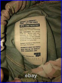 NEW Massif ELEMENTS PANTS USAF MEDIUM Multicam OCP SCORPION BATTLESHIELD FABRIC