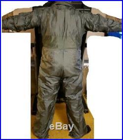New USAF Military Cold Weather Nomex Flight Suit 52L Fire Retardant CWU-64/P Bib