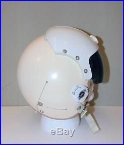 Nice Clean Complete 1980 Gentex HGU-22/P Single Visor USAF Pilot Flight Helmet