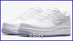 Nike AF1 Air Force 1 Foamposite Pro Cup Triple White Size US 10 Men's AJ3664 100