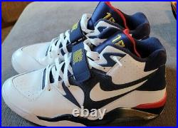 Nike Air Force 180 Barkley 1992 Olympic USA Dream Team Gold Navy Size 13