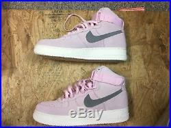 Nike Air Force 1 High'07 Arctic Pink/Dust-Sail NIB Size US 10.5 Men 315121 611