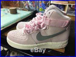 Nike Air Force 1 High'07 Arctic Pink/Dust-Sail NIB Size US 13 Men 315121 611