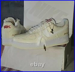Nike Air Force 1 Low (AF1'07) Premium'POPCORN' CW2919-100 Men's US Size 9