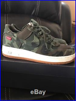 Nike Air Force 1 Low nds camouflage Supreme released in 2012