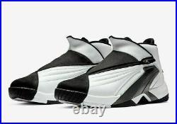 Nike Air Jordan Jumpman Swift White Black Zip Gym Shoes AT2555-100 Size 8.5