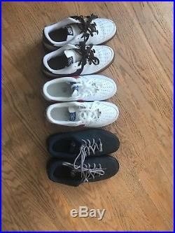Nike Air force 1 Low Size 9.5 (3 Pairs)