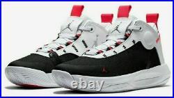 Nike Jordan Jumpman 2020 White Silver Black Red Shoes BQ3449-100 Size 10.5