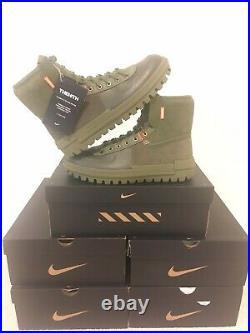 Nike Xarr Medium Olive Green Hiking Work Boots THEIOTH BQ5240-200 Size 10.5