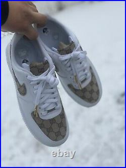 Nike air force 1 Custom Authentic (ANY SIZE) Message After Purchase With Size