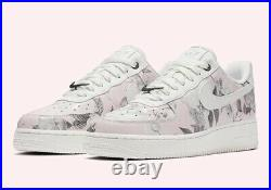 Nike air force 1 low size 8 womens'Floral Rose