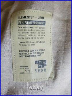 Nwt Massif Elements Usaf Multicam Navair (fr)jacket Size 2xl