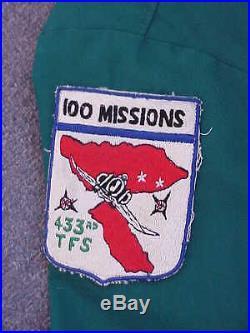 ORIGINAL Vietnam War USAF F-4 Phantom Pilot Party Suit UBON RTAFB with5 Patches