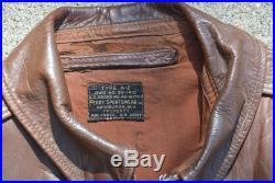 Original Perry Sportswear WWII US Army Air Force A-2 Jacket