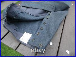 Original RAF WW2 style enlisted man's uniform tunic, trousers, sidecap, 1948 dated