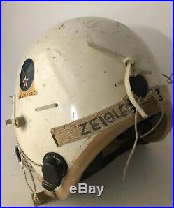 Original USAF P-4A Flight Helmet, 456th SAW Squadron Artwork, B-52, 1950s