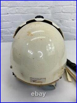 Original US Air Force Pilots HGU-2A/P Flight Helmet With O2 Mask