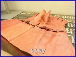Original WW2 Military RAF Royal Air Force Gauntlets Leather Gloves Uniform 5269