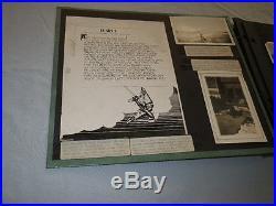 Original WWII AAF Photo Album B-17s Italy 15th Air Force 200+ photos
