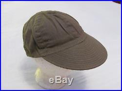 Original WWII US Army Air Force HBT AAF Type A-3 mechanics cap unissued sz 7 1/4