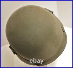 Original Ww2 Army Air Forces M-3 Flak Helmet Unissued With Document