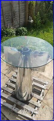 Polished WW2 Bomb Tail
