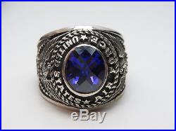 Q23, Sterling Silver Ring, The United States, Usaf, Us Air Force, Size 11.25